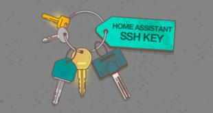 Raspbian i Home Assistant SSH Key