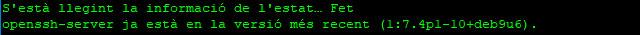Instal·lar i configurar SSH en Raspbian