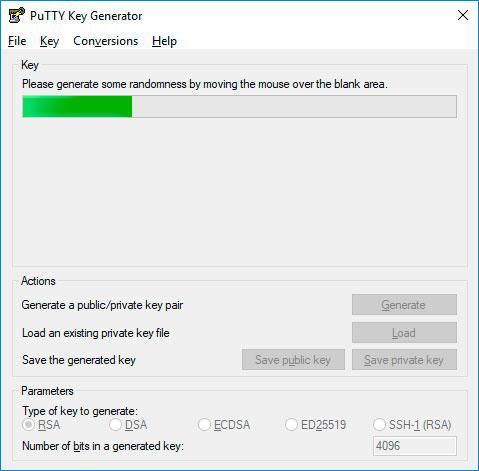 Generar la clau SSH per a instal·lar a Raspbian